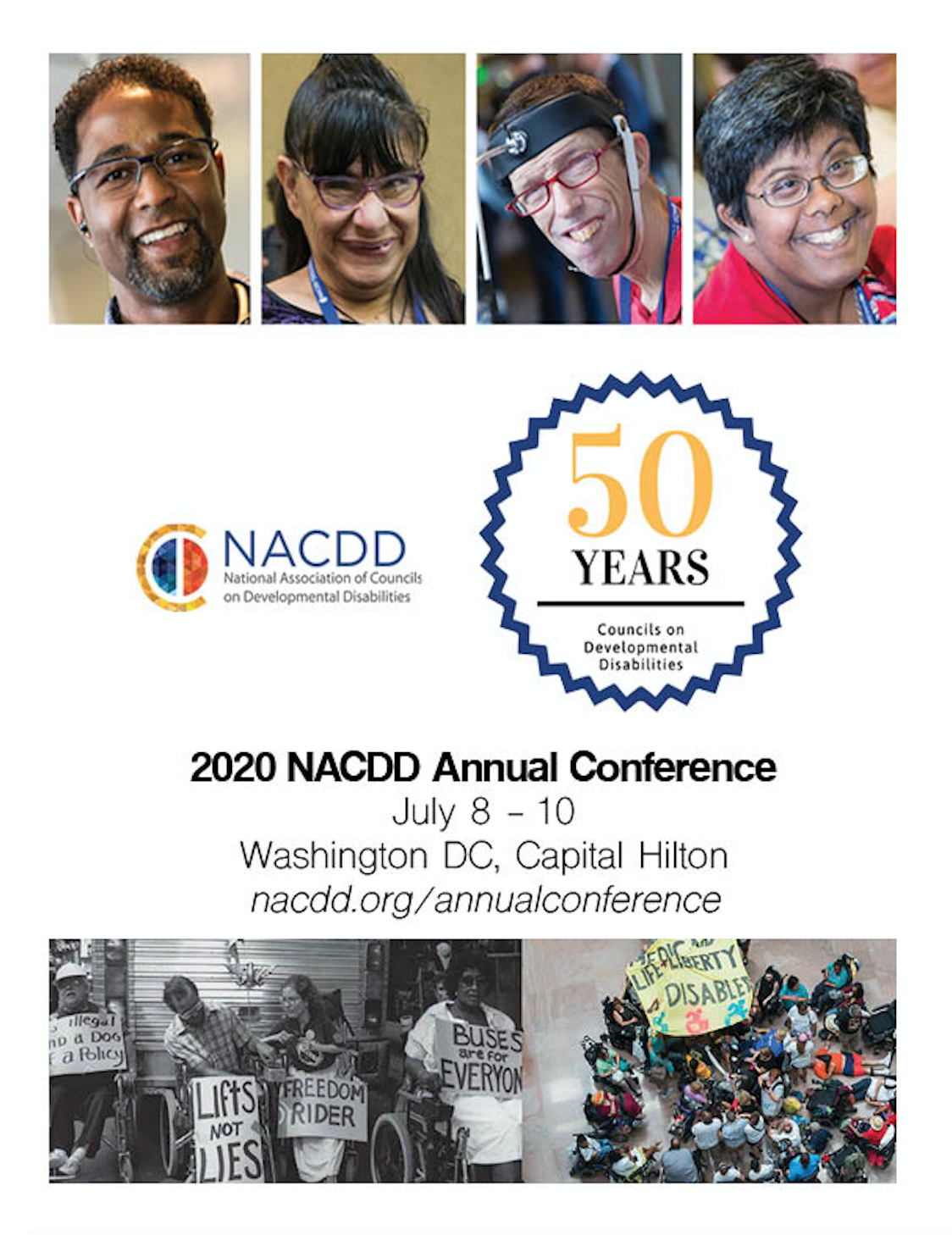 NACDD Annual Conference Flyer for July 8-10